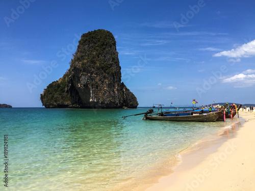 Fotobehang Tropical strand Tropical Beach Thailand