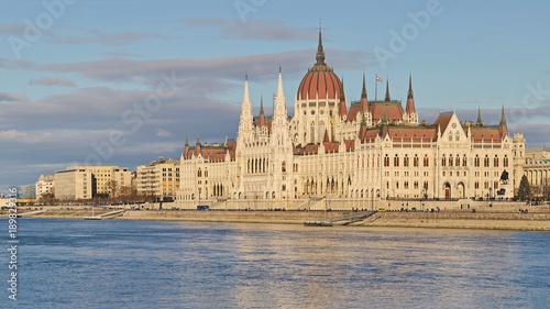 Poster Boedapest Hungarian Parliament, Budapest, Hungary