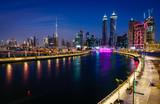 Fototapety Dubai downtown skyline