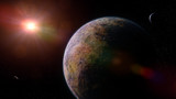 alien planets orbiting a distant star  - 189882574