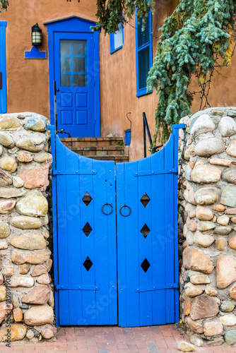 Blue Gate and Blue Door
