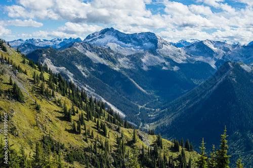Keuken foto achterwand Nachtblauw Mount Cody