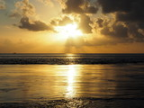 Coucher de soleil dans le pacifique - 189921310