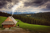 mountain cottage located in a beautiful mountain climate - 189930928