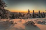 Wschód słońca  Jaworzyna Krynicka ,Beskid Sądecki. - 189932705
