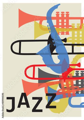 Fotobehang Muziek Jazz festival.