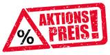Aktionspreis / Stempel / Rabatt - 189947508