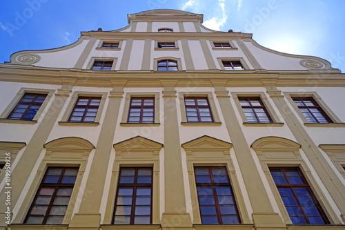 Leinwanddruck Bild Altstadt von AUGSBURG ( Bayern )