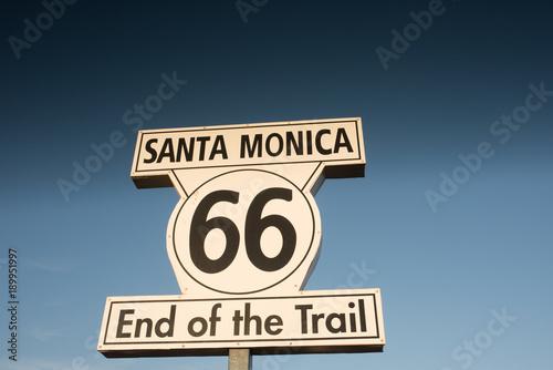 Papiers peints Route 66 fin de la route 66.