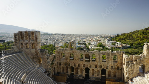 Deurstickers Athene Dionysostheater bei Tag 2
