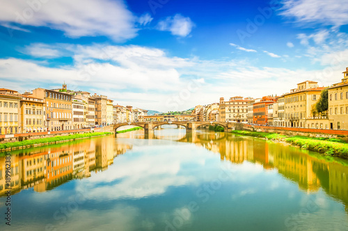 Foto op Plexiglas Florence Ponte Vecchio, Florence, Italy