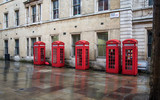 Five Phone Boxes