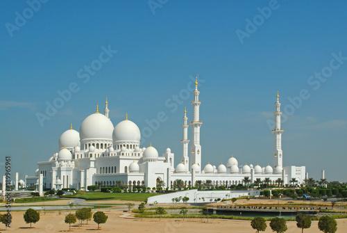 Deurstickers Abu Dhabi Sheikh Zayed Mosque