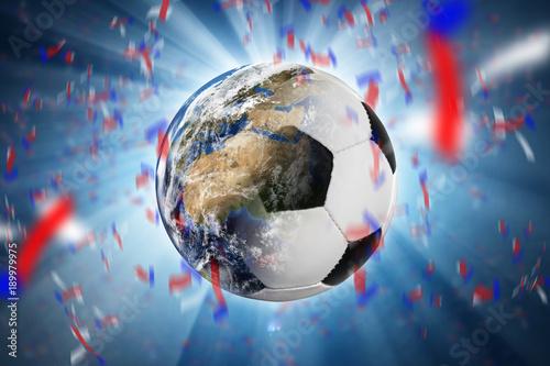 Foto op Aluminium Bol Fußball - Sieger - Cup