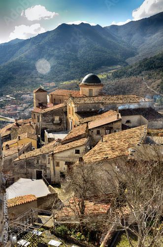 Morano Calabro, perched village in the Pollino National Park