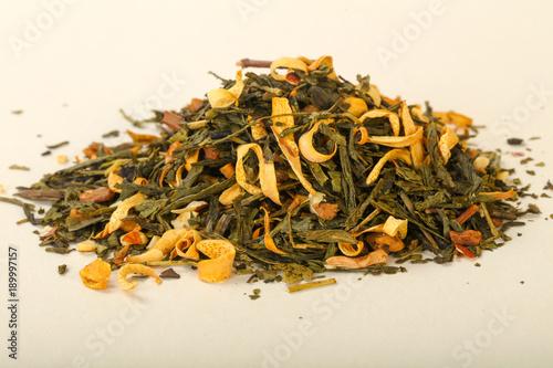 Aroma tea heap