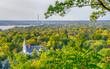 Overhead View of Hudson, Wisconsin