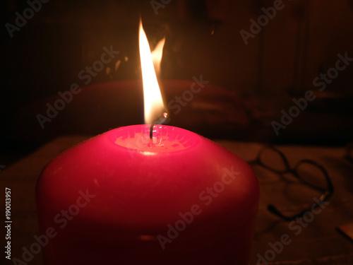 Foto op Aluminium Vuur / Vlam Kerzenlicht