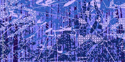 Fotobehang Abstractie expressive artistic background