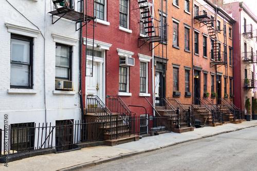 New York City historic Gay Street in the Greenwich Village neighborhood of Manhattan