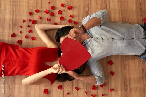 Foto Murales Expressing Love to Soulmate