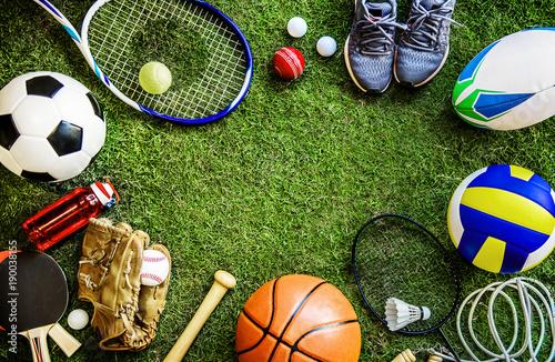 Leinwandbild Motiv Sports tools