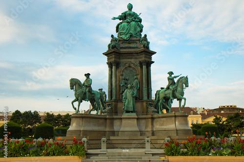 Poster Wenen Denkmal der Maria Theresia,Wien