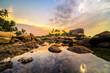 Quadro Sunset View Bintan Batam Island Wonderfull Indonesia