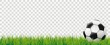 Football Grass Bokeh Background Transparent Header