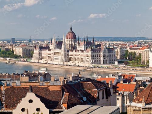 Foto op Canvas Boedapest Hungarian Parliament