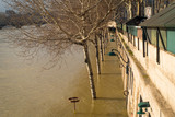 Flooded banks of the river Seine, Paris - 190084991