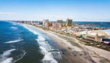 Atlantic city waterline aerial - 190089939