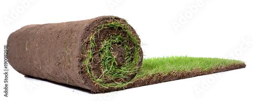 Deurstickers Gras Rollrasen