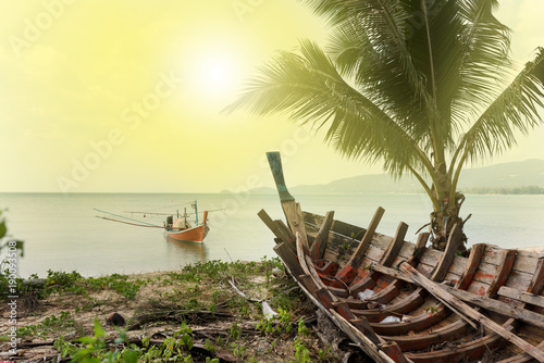 Fotobehang Zwavel geel Paradise beaches, Koh Samui Island