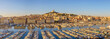 Marseille harbour port panorama city skyline, Marseille, France