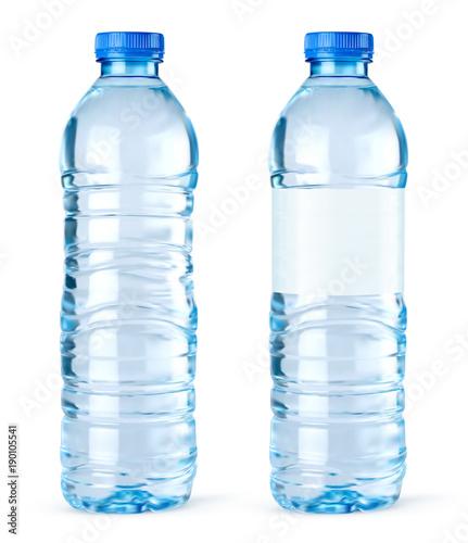 Wektor butelka wody 4