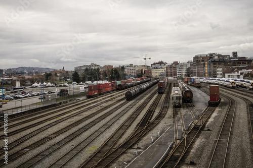 Papiers peints Voies ferrées Ferrovia,Trens