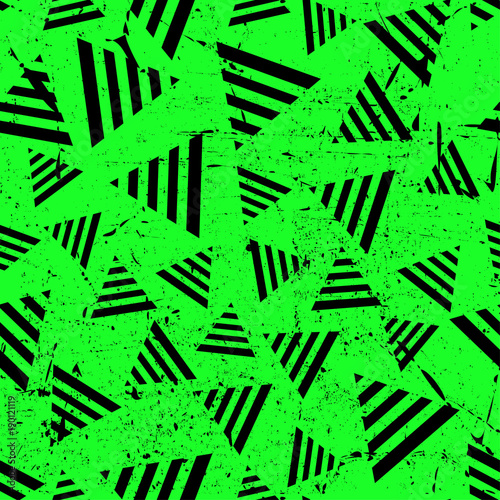 zielone-tlo,-trojkaty,-wzor-tapety