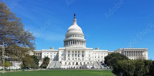 Stany Zjednoczone Capitol budynek na Wzgórze Kapitolu w washington dc, usa.