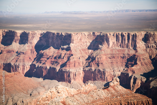 Papiers peints Saumon Aerial view of the Grand Canyon in Arizona.