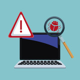 Cyber security icons icon vector illustration graphic design - 190141540