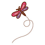cute flying dragonfly natural animal - 190148746
