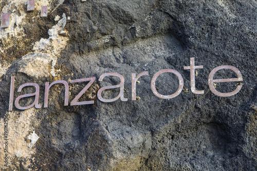 Keuken foto achterwand Canarische Eilanden Lanzarote in Spain