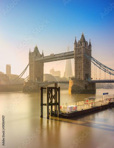Papiers peints Londres Tower Bridge, view from the Shard, London, UK