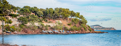 Papiers peints Photos panoramiques Panorama de la Anse de Fabrégas à La Seyne-sur-Mer