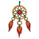 Dream catcher symbol icon vector illustration graphic design - 190184520