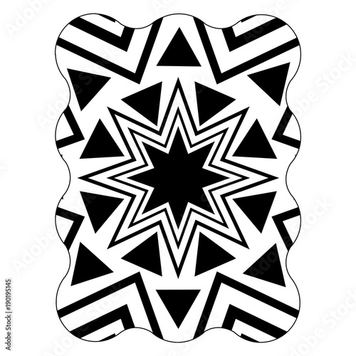 figure with seamless pattern graphic background style