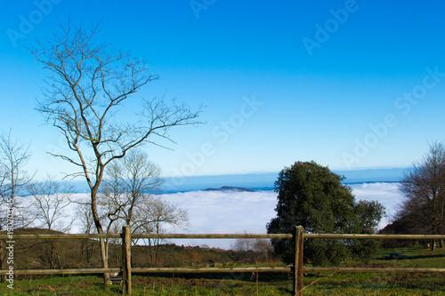 Deurstickers Pool Asturias, paraíso natural