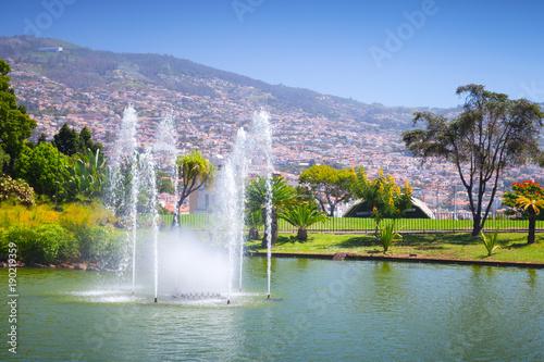 Fountains of Santa Catarina Park, Funchal