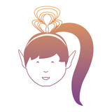 cartoon princess icon image